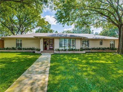 Single Family Home For Sale: 5924 Willow Lane