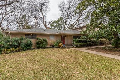 Sherman Single Family Home For Sale: 2514 Dover Drive