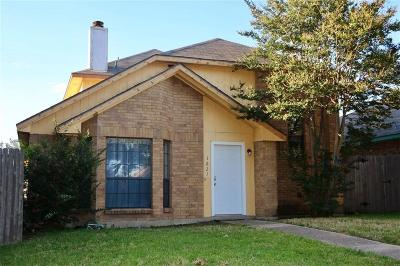 Mesquite Single Family Home Active Option Contract: 1621 Wheatfield Drive