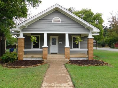 Denison Single Family Home For Sale: 1301 W Morton Street