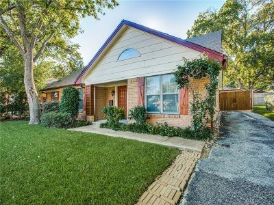 Single Family Home For Sale: 9221 Plano Road