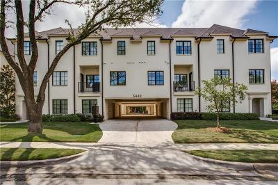 Dallas County Condo For Sale: 3449 Milton Avenue #5