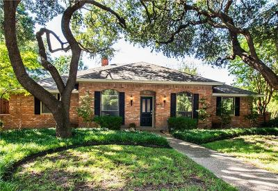 Dallas Single Family Home Active Option Contract: 6625 Coolglen Drive