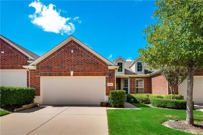 Plano Townhouse Active Option Contract: 3433 Belladonna Drive