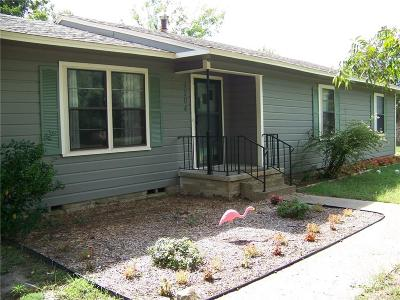 Quitman Single Family Home Active Contingent: 1204 Oak Grove Road