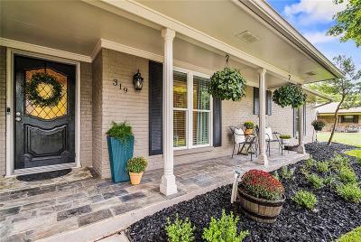 McKinney Single Family Home For Sale: 319 Bois D Arc Place