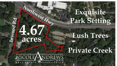 Dallas County, Ellis County Residential Lots & Land For Sale: 9122 Inwood Road