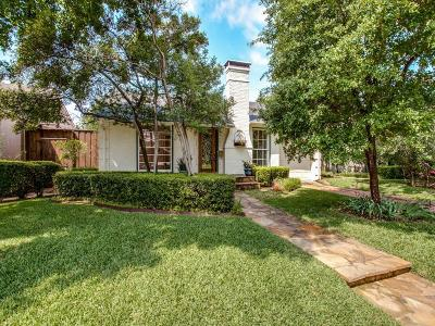 Dallas County Single Family Home For Sale: 4651 Westside Drive