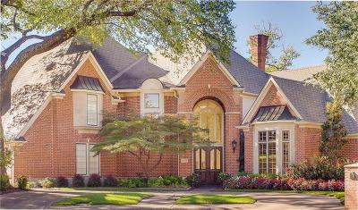 Dallas TX Single Family Home For Sale: $1,050,000