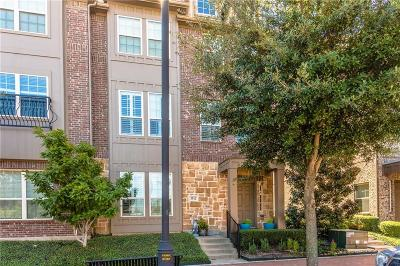 Addison Townhouse For Sale: 3912 Asbury Lane