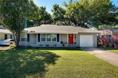 Dallas Single Family Home For Sale: 3108 San Marcus Avenue