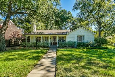 Fort Worth Single Family Home For Sale: 300 N Bailey Avenue