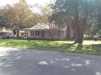 Terrell Single Family Home Active Option Contract: 1404 N Rockwall Avenue
