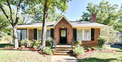 Corsicana Single Family Home Active Option Contract: 1715 Sycamore Avenue