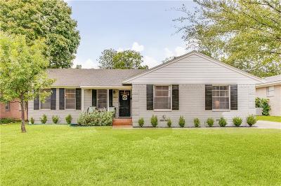 Richardson Single Family Home For Sale: 742 Nottingham Drive