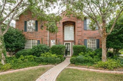 Coppell Single Family Home For Sale: 718 Bella Vista Drive