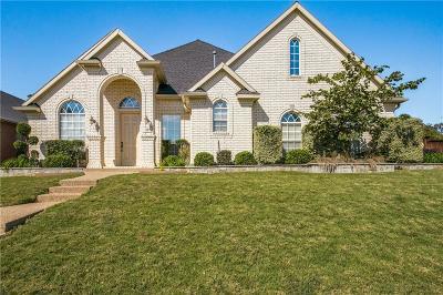 Grand Prairie Single Family Home Active Option Contract: 510 Castlerock Circle