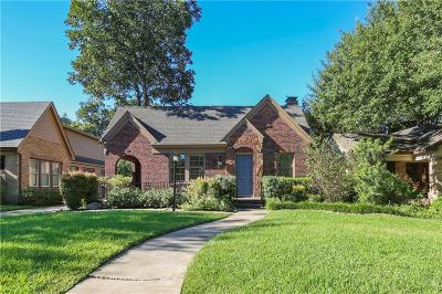 Dallas County Single Family Home For Sale: 615 Cordova Street