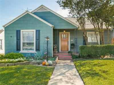 Fort Worth Single Family Home For Sale: 4117 Lovell Avenue