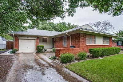 Richardson Single Family Home Active Option Contract: 606 Newberry Drive