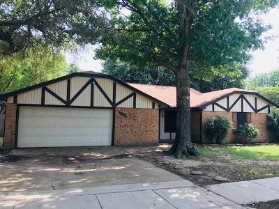 North Richland Hills Residential Lease For Lease: 7116 Trinidad Drive