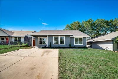 Lewisville Single Family Home Active Option Contract: 677 Hardy Street