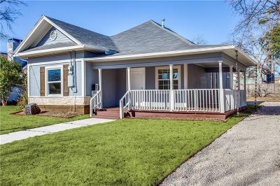 Dallas Single Family Home For Sale: 5505 E Side Avenue