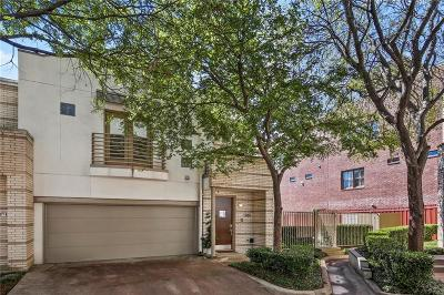 Dallas Townhouse For Sale: 3921 Wycliff Avenue