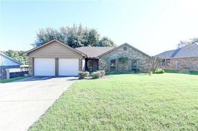 Benbrook Single Family Home Active Option Contract: 429 Meadowhill Drive