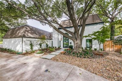 Dallas Single Family Home For Sale: 6863 Carolyncrest Drive