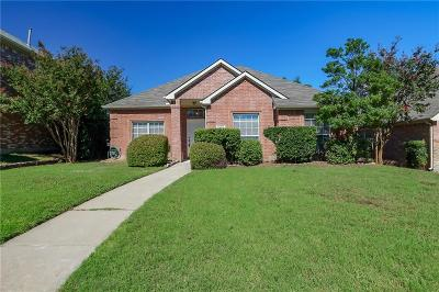Plano Single Family Home Active Contingent: 3909 Windford Drive
