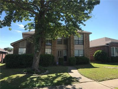 Mesquite Single Family Home For Sale: 424 Surrey Place