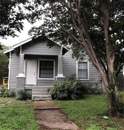 Dallas Single Family Home For Sale: 422 Marshalldell Avenue