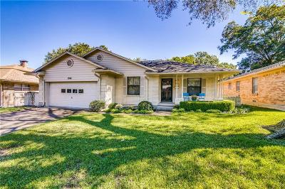 Garland Single Family Home For Sale: 3904 Ashville Drive
