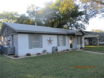 Everman Single Family Home Active Option Contract: 205 N Hansbarger Street