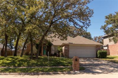 Lewisville Single Family Home Active Option Contract: 1382 Clear Creek Drive