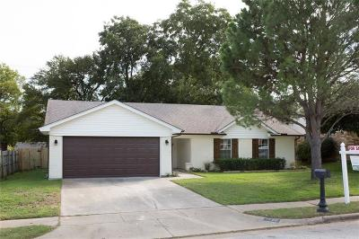 Bedford Single Family Home Active Option Contract: 1720 Post Oaks Drive