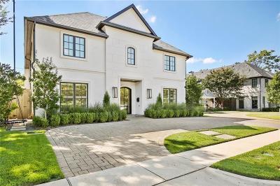 Dallas County Single Family Home For Sale: 4409 Colgate Avenue