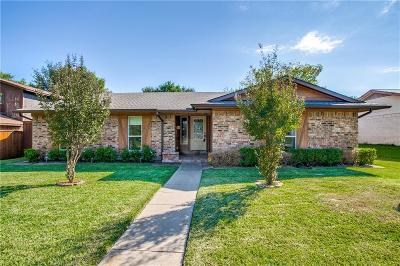 Richardson Single Family Home Active Option Contract: 1615 Aurora Drive