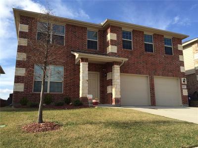 Denton Single Family Home For Sale: 3412 Wavecrest Lane