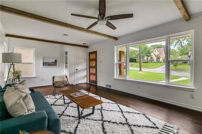 Dallas Single Family Home For Sale: 1123 Valencia Street
