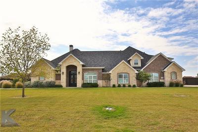 Abilene Single Family Home For Sale: 133 Dove Creek Path