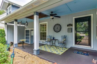 Fort Worth Single Family Home For Sale: 2332 W Rosedale Street S