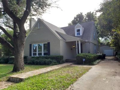 Fort Worth Single Family Home Active Option Contract: 3517 Dorothy Lane S