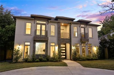 Highland Park, University Park Single Family Home For Sale: 2813 University Boulevard