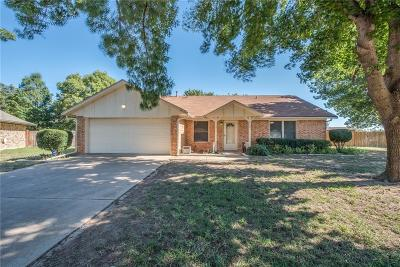 Weatherford Single Family Home Active Contingent: 110 Guinevere Court