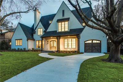 Dallas County Single Family Home For Sale: 5626 Greenbrier Drive