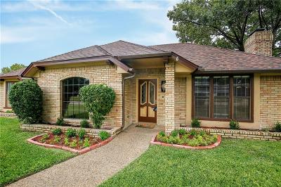 Plano Single Family Home Active Option Contract: 3308 Kingsbridge Drive
