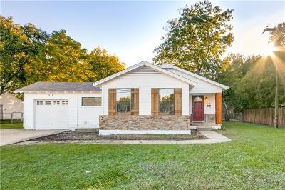 Lewisville Single Family Home For Sale: 218 S Cowan Avenue