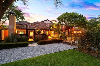 Single Family Home For Sale: 5937 Saint Marks Circle